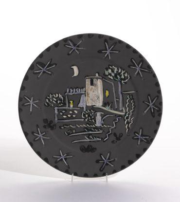 Pablo Picasso-Paysage (A. R. 208)-1953