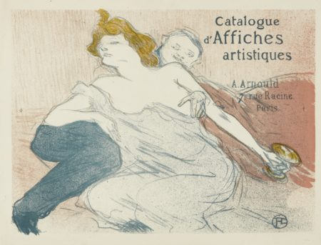 Henri de Toulouse-Lautrec-Debauche (Deuxieme Planche) (W. 167; D. 178; Adr. 187)-1896