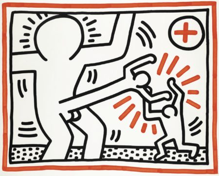 Keith Haring-Untitled (L. P. 39)-1985