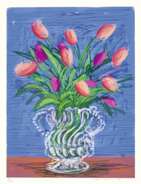 David Hockney-Flowers-2010