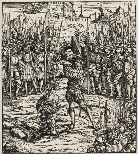 Hans Burgkmair The Elder-Marx Treitzsaurwein, Der Weisskunig (The History Of Emperor Maximilian I And His Ancestors) (Cf. Hollstein 431-541)-1516