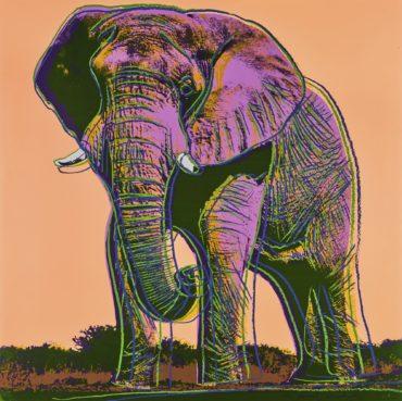 Andy Warhol-African Elephant (F. & S. II.293)-1983