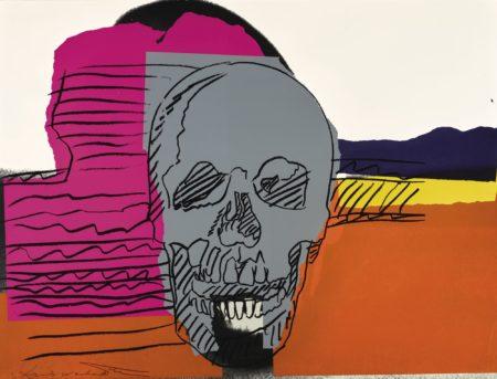 Andy Warhol-Skull (F. & S. II.159)-1976