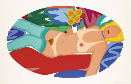 Tom Wesselmann-Beautiful Bedroom Kate-1998