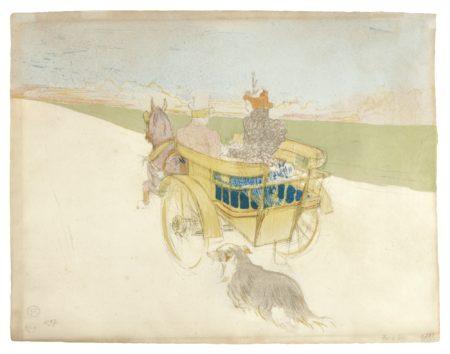 Henri de Toulouse-Lautrec-Partie De Campagne (Delteil 219; Adriani, Wittrock 228)-1897