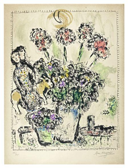 Marc Chagall-Le Printemps (M. 568)-1969