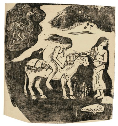 Paul Gauguin-L'Enlevement D'Europe (Kornfeld, Mongan, Joachim 47)-1899