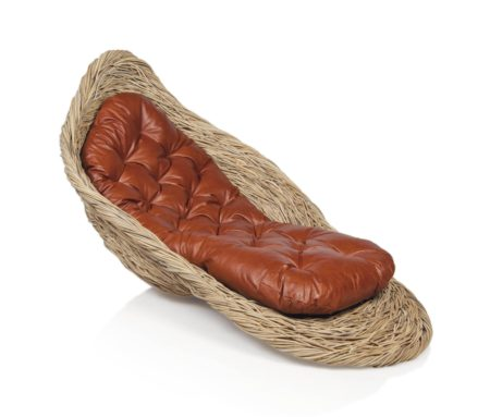 Porky Hefer - 'Fallen Bird's Nest', A Lounger-2014