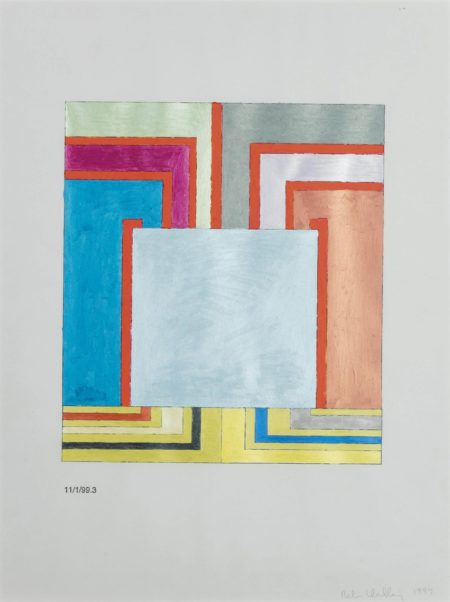 Peter Halley-Untitled (11/1/99.3)-1999