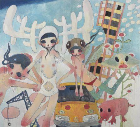 Aya Takano-Let's Go Into The World-2008