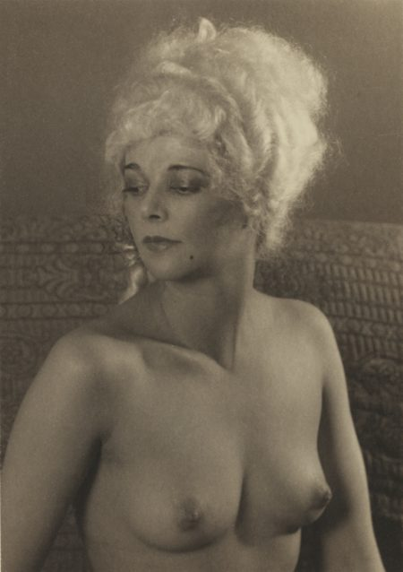 Paul Outerbridge-Paula In Wig-1924