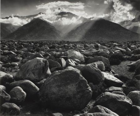 Ansel Adams-Mt. Williamson, Sierra Nevada, From Manzanar, Cal.-1944
