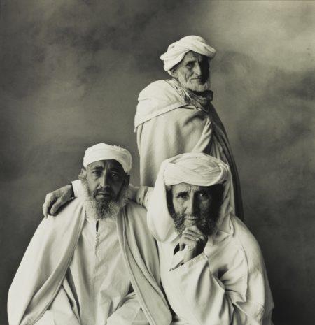 Three Village Elders, Khenifra, Morocco (Three Arabs, Morocco)-1971