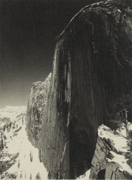 Ansel Adams-Monolith, Face Of Half Dome-1927