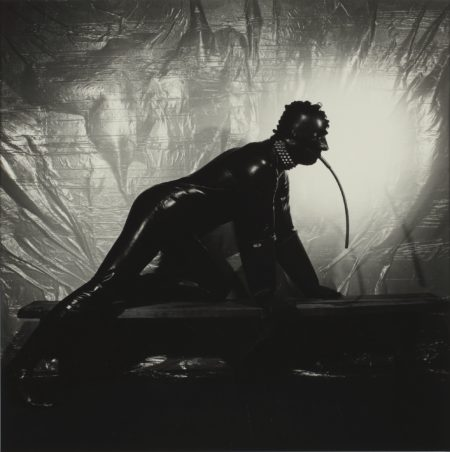 Robert Mapplethorpe-Joe, New York City (Rubber)-1978