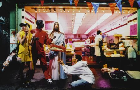 David LaChapelle-Loaves And Fishes (From Jesus Is My Homeboy)-2003