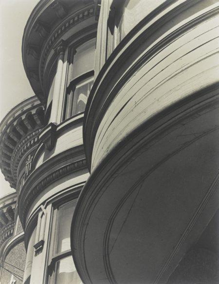 Brett Weston-Bay Window (Victorian House, San Francisco)-1928