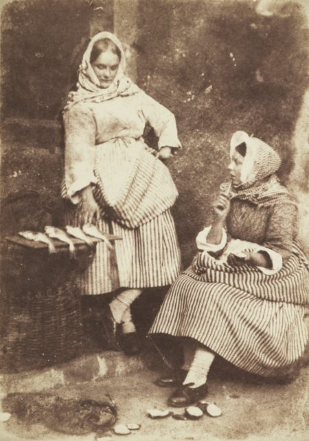 Jeanie Wilson And Annie Linton, Waiting For The Boats, Newhaven-1845
