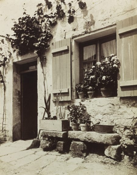Eugene Atget-Ferme (Auvers S/ Oise)-1910