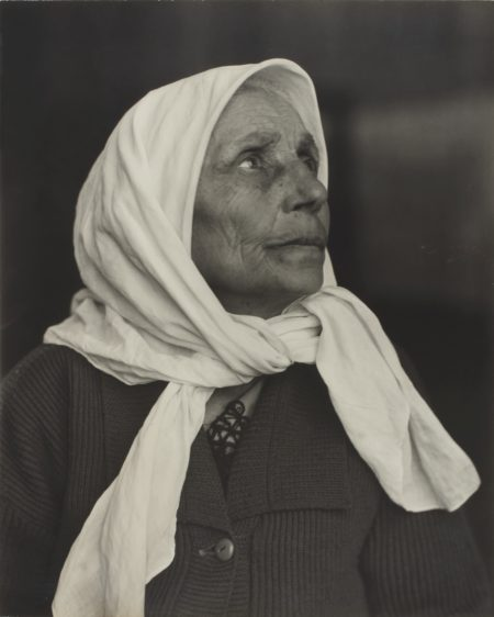 Lewis Wickes Hine-Syrian Grandmother, Ellis Island-1926