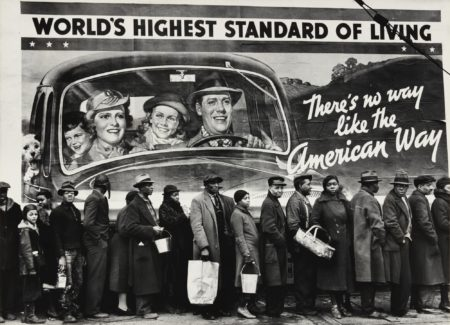 Margaret Bourke-White-The American Way Of Life (At The Time Of The Louisville Flood, Kentucky)-1937