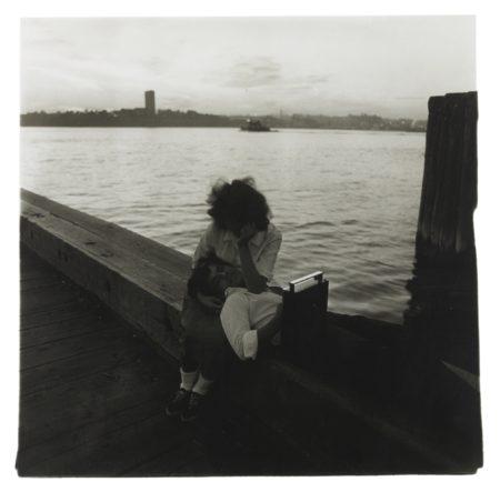 Diane Arbus-Couple On A Pier, Nyc-1963