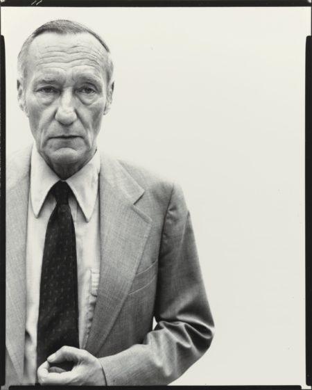 Richard Avedon-William Burroughs, Writer, New York City-1975