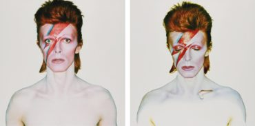 Brian Duffy-Aladdin Sane (Eyes Open And Eyes Closed), 1973