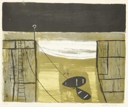 William Scott-Cornish Harbour-1951