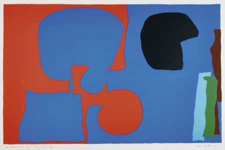 Patrick Heron-Winchester Four, Plate IV-1967
