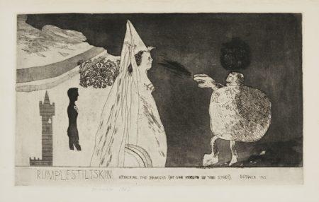 David Hockney-Rumplestiltskin (S.A.C. 15; Mca Tokyo 31)-1962