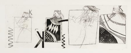 David Hockney-Three Kings And A Queen (S.A.C., Mca Tokyo 7)-1961