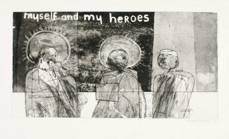 David Hockney-Myself And My Heroes (S.A.C., Mca Tokyo 4)-1961
