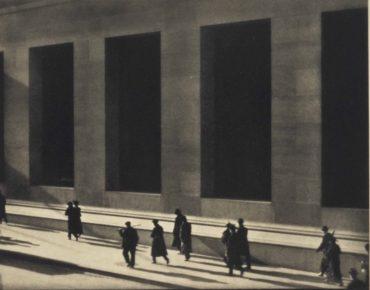 Paul Strand-Wall Street, New York-1915