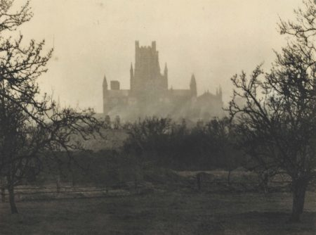 Ely Cathedral: Evening View From The East-1916