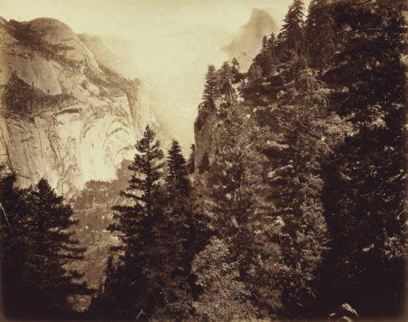 Eadweard Muybridge-Tenaya Canyon: Valley Of The Yosemite-1872
