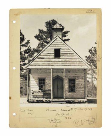 Walker Evans-Wooden Church, South Carolina-1936