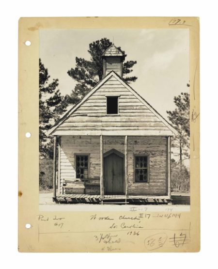 Walker Evans-Wooden Church, South Carolina-1936