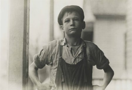 Lewis Wickes Hine-Furman Owens, 12 Years Old, Olympia Mill, Columbia, South Carolina-1909