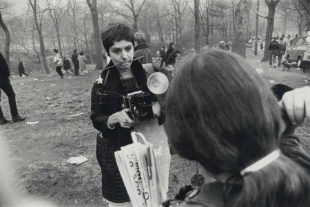 Garry Winogrand-Diane Arbus, Love-In, Central Park, New York-1969