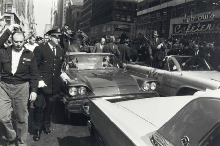 Garry Winogrand-Richard Nixon Campaigning In New York: Nixon-Kennedy Presidential Race-1960
