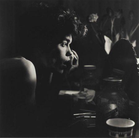 Peter Hujar-David Brintzenhofe Making Up-1982