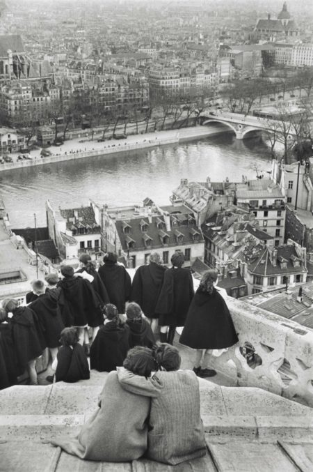 View From The Towers Of Notre Dame, Paris, France-1953