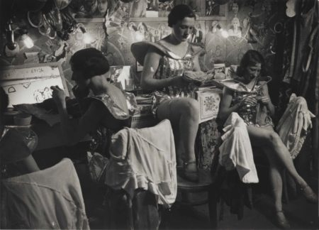 Brassai-Dressing Room At The Folies Bergere-1932