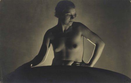 Untitled (Backlit Nude)-1920