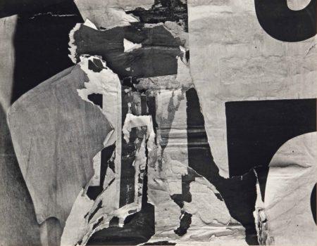Harry Callahan-Torn Sign-1946