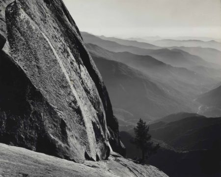 Ansel Adams-Moro Rock, Sequoia National Park And Sierra Foothills, California-1945
