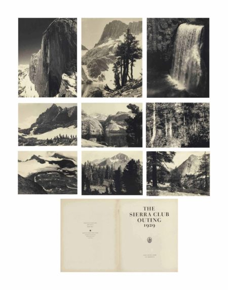 Ansel Adams-The Sierra Club Outing-1929