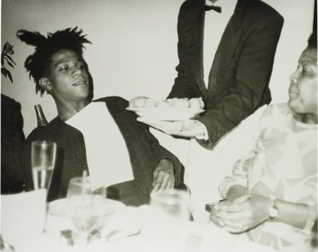 Andy Warhol-Jean-Michel Basquiat, Basquiats Mother And Friends (1)-1984
