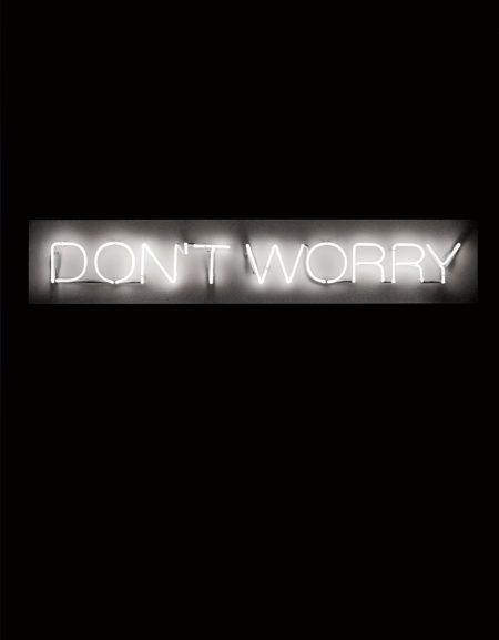 Martin Creed-Work No. 230 (Don'T Worry)-2000
